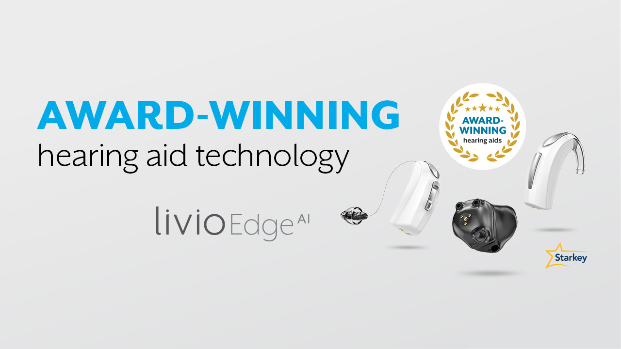 Award winning hearing aid technology